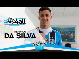 Atacante Da Silva é o novo reforço do Grêmio l GrêmioTV