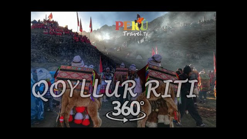 Peregrinación Señor de Qollur riti Video 360 Mahuayani Cusco
