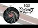 Polymer Clay Galaxy Swirl Jewelry
