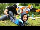НЕРФ-СНАЙПЕРЫ нападают на детей в парке Игра бластерами...