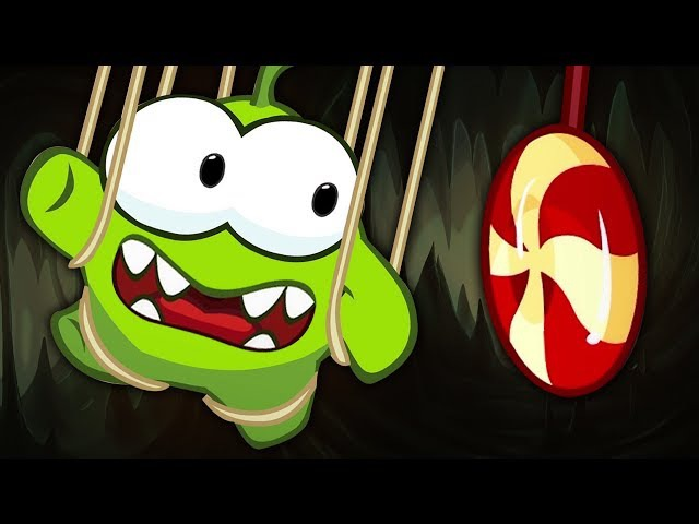 OM NOM STORIES: The Puppeteer and the Candy | Cut the Rope | Cartoons for kids | HooplaKidz TV