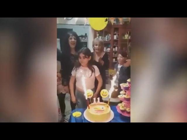 11-летнюю именинницу подожгли праздничной хлопушкой