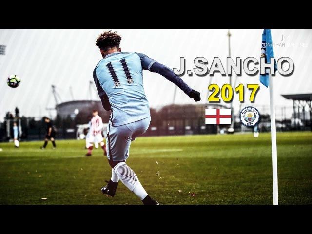 Jadon Sancho ● Crazy Dribbling Skills Goals 2017
