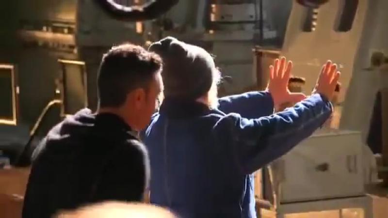 Уникальное видео со съёмок сериала Легенды завтрашнего дня 2016 HD