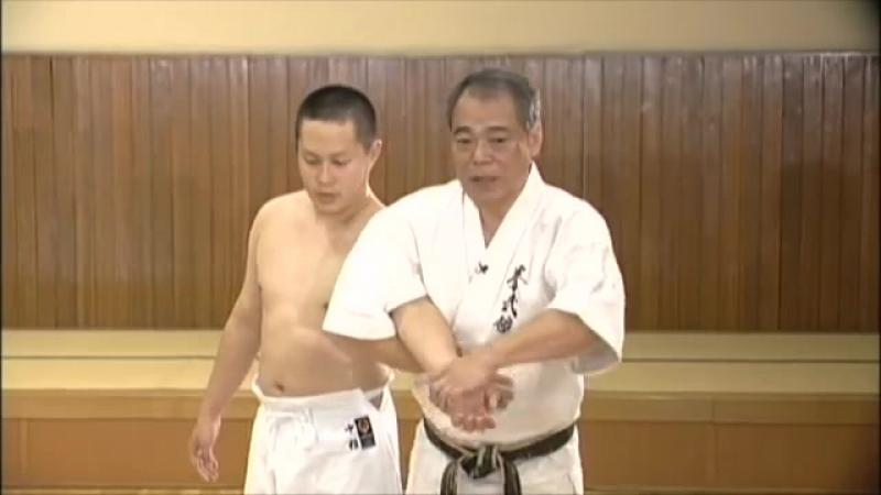 Seipai _ Goju ryu _ Kata no ura bunkai _ Yoshio Kuba