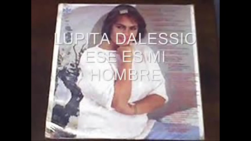 LUPÍTA DALESSIO LO BLANCO Y LO NEGRO ESE ES MI HOMBRE