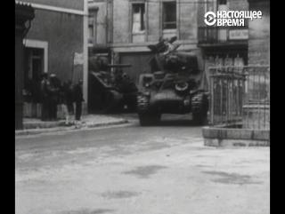 Высадка в Нормандии. Уникальные кадры
