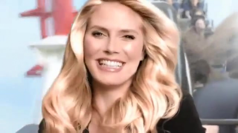 Heidi Klum Taft Organic Oil commercial 2010