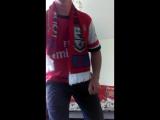 отмечаю 2 день победу футбольного клуба Арсенал кубок Англии и танцую от радости