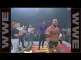 Jean Claude Van Damme, Chuck Norris and Bill Goldberg on WCW Nitro