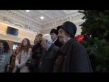 Донецк ответил на вокзальные флешмобы. От героев былых времён