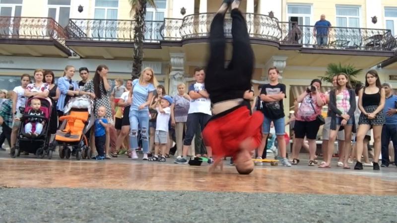Bboy Lees summer 2017 street dance Yalta