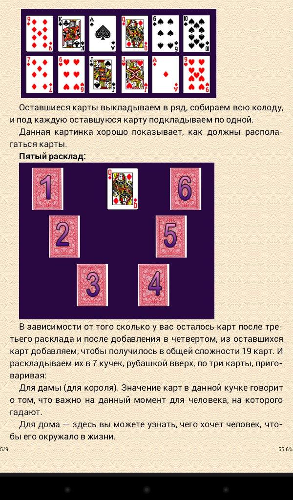 На желание гадание на картах i простые гадания на игральных картах на отношения