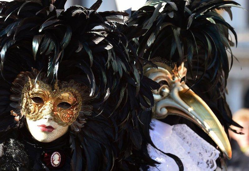 история венецианской маски, венецианские маски история возникновения