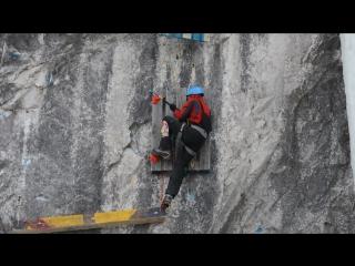 Чемпионат ДФО 2017 по ледолазанию, трудность полуфинал