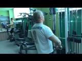 Чумовая тренировка дельт и бицепса 22.04.17