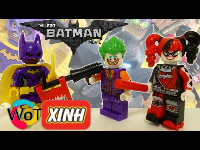 Аналог Лего - Бэтгёрл, Харли Квинн, Джокер. XINH Минифигурки