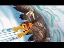 Lion Guard: Hafifu and Majinuni save Kion!   The Lost Gorillas HD Clip