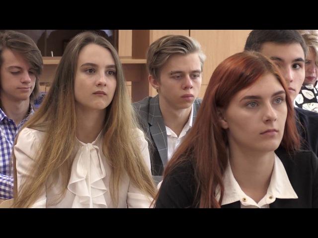 Андрей Филатов провел открытый урок в школе №2 Лангепаса