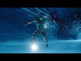 Савитар против Флэша Savitar vs Flash Makoto Miyazaki The cyborg fights