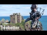 инструментальная музыка веселый традиционный шотландский Селтик волынка