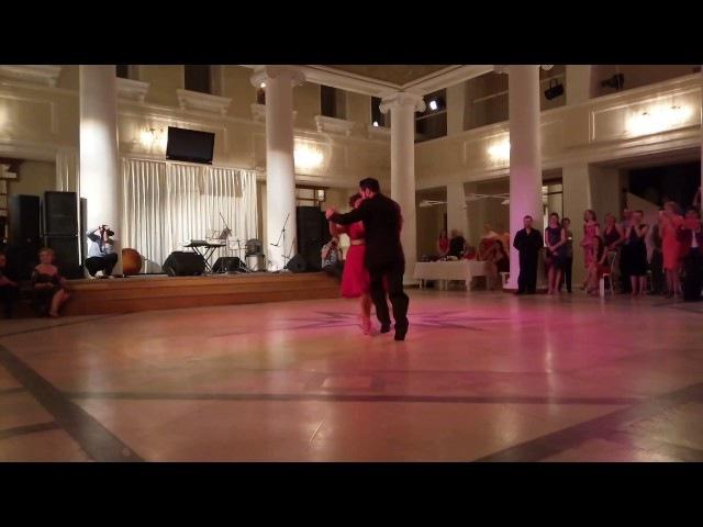 ГРАСИЕЛА ГОНЗАЛЕС И ЛЕОНАРДО САРДЕЛЛА 3-tango festival La Vida Del Tango CHELY 29.04.2017
