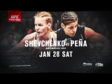 UFC on Fox Denver: Shevchenko vs. Peña   Adult Swim Trailer