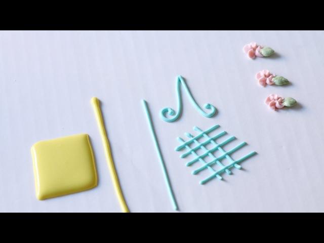Видео-урок 3: Консистенции глазури и способы ее окрашивания