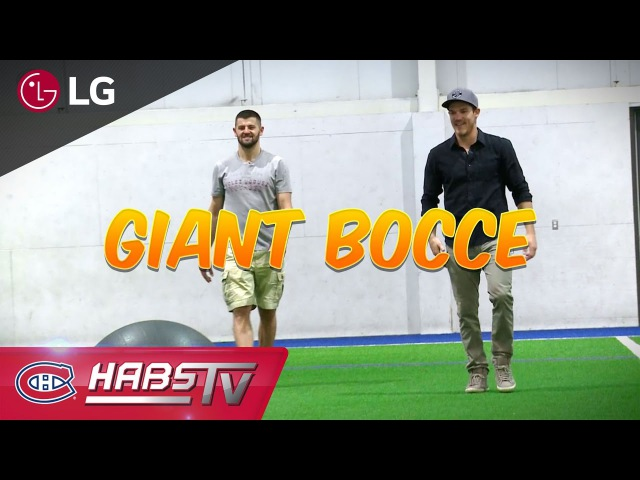 The Duel: Swiss Ball Bocce feat. Andrew Shaw and Alexander Radulov