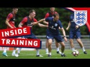 Southgate joins in England's strikers are on fire | Inside Training