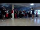 Танцевальная разминка от Ольги Ларсен на вечеринке Буги-Вуги