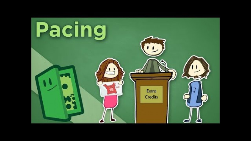 Pacing - How Games Keep Things Exciting - Extra Credits