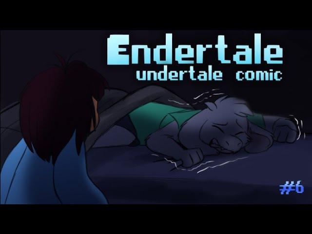 (undertale comic) Endertale 6 | Русский дубляж [RUS]