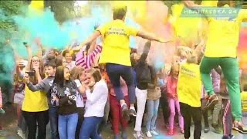 День города Ивантеевки 2016 Фестиваль красок и графитчики