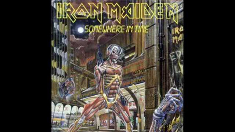 Iron Maiden - Caught Somewhere In Time (with lyrics)
