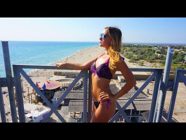 РАЗВРАТ в Крыму? Пляж KAZANTIP - лучший тусовочный пляж Крыма? Казантип возрождается!