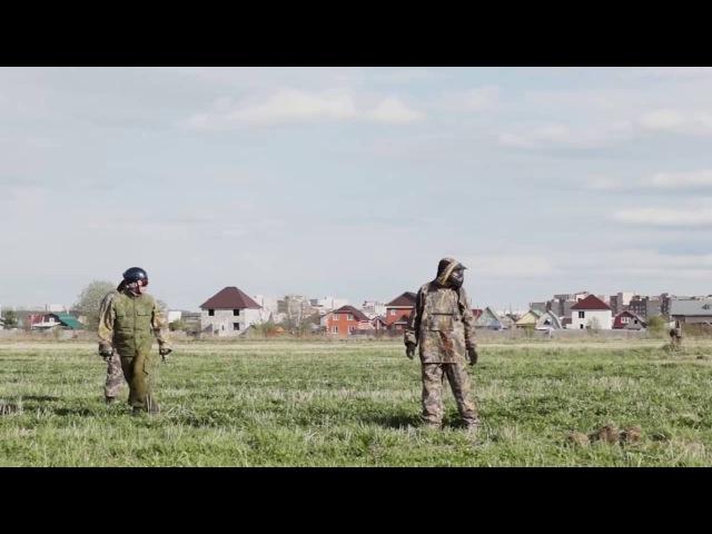 Боевой дрон. Жители Перьми демонстрируют возможности дрона.
