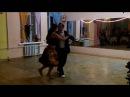 20131011 El ultimo café выступление Виктории Рыбальченко и Дениса Шевченко 7 й ДР Milagro del tango