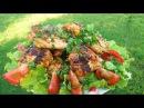 Шашлык Куриные КРЫЛЬЯ на МАНГАЛЕ в самом вкусном маринаде. Шашлык из курицы в ме