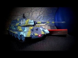 Very fast, Very small, Great Wall - TIGER 1:72 Scale Mini RC Tank