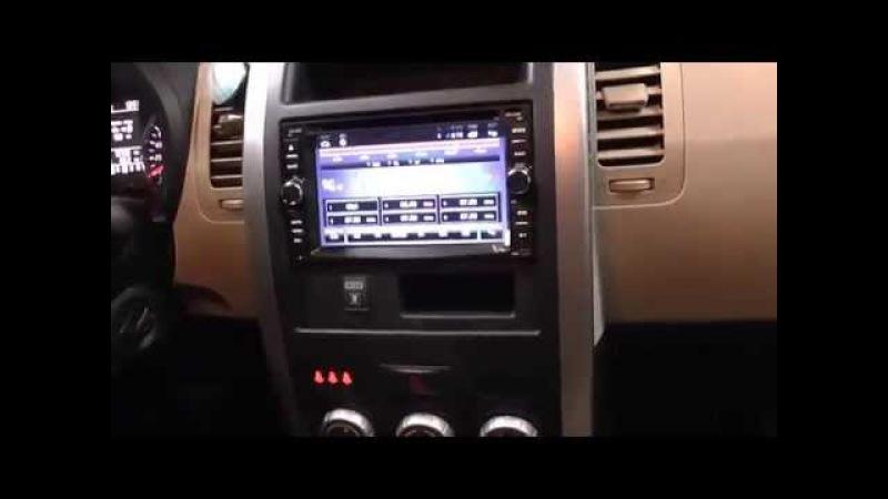 Обзор автомагнитолы Redpower 18001 в Nissan X-Trail с системой кругового обзора AVM