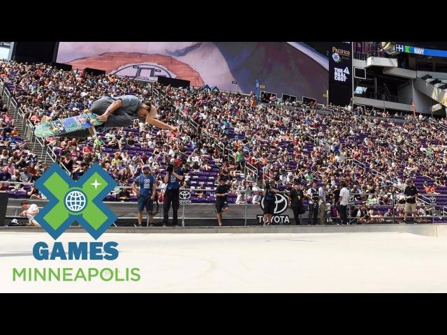 Alex Sorgente wins Skateboard Park gold | X Games Minneapolis 2017
