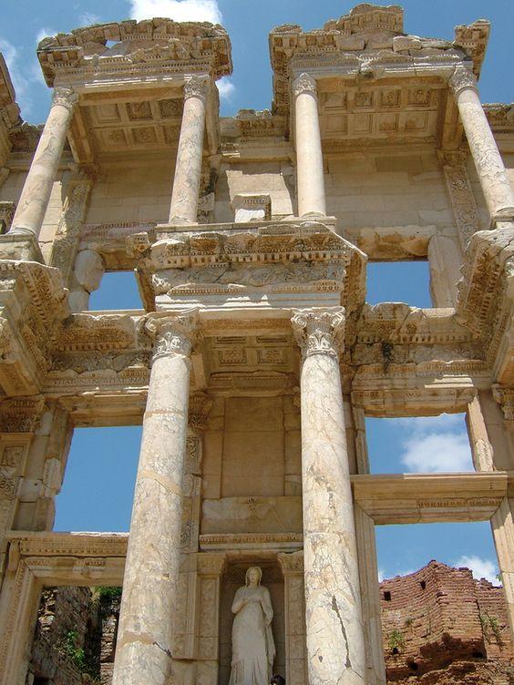 библиотека эфес руины