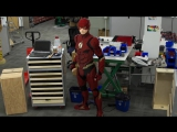 The Flash Life-size Model - LEGO DC Comics Super Heroes - Time Lapse