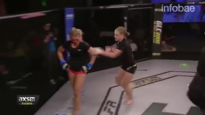 Insólito momento en la MMA_ pensó que había acabado el round y terminó perdiendo el combate