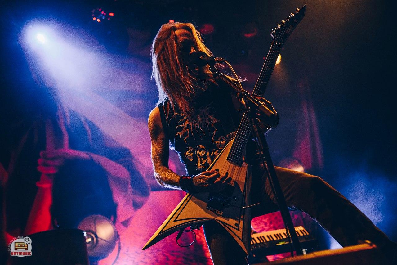 Финские металлисты CHILDREN OF BODOM выступили в Москве на сцене ГлавClub Екатерина Шуть