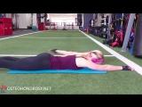 Упражнение для мышц верхней части спины и плечевых суставов.