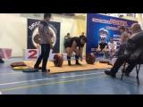 Мартынов Евгений тяга 185 кг