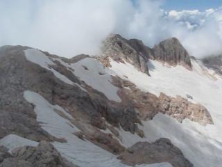 Большой Фиштинский ледник. Гора Фишт
