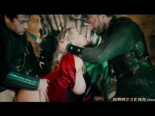 Ella Hughes & Rebecca Moore - Queen Of Thrones: Part 4 (Game Of Thrones A XXX Parody) [Brazzers]
